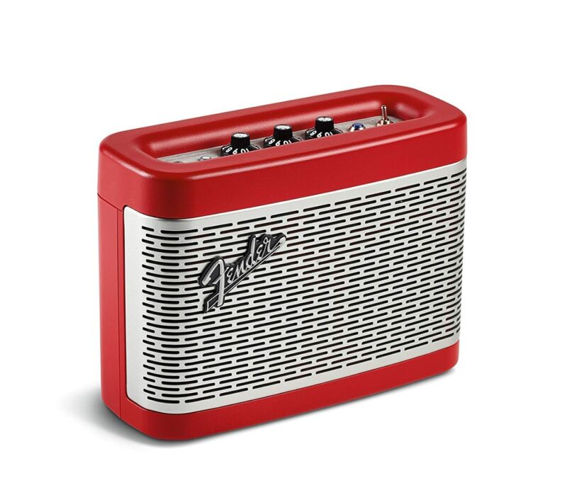 Fender Newport Rechargeable Battery Powered Portable Bluetooth Speaker - Red