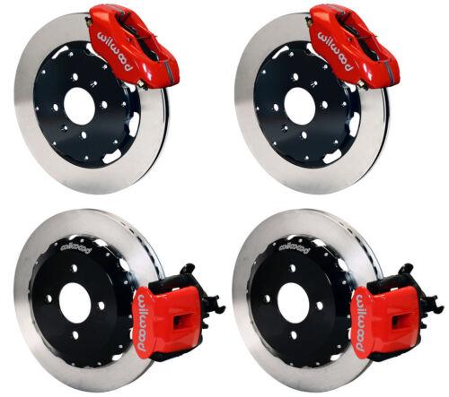 Wilwood Disc Brake Kit,acura Integra & El,red Calipers