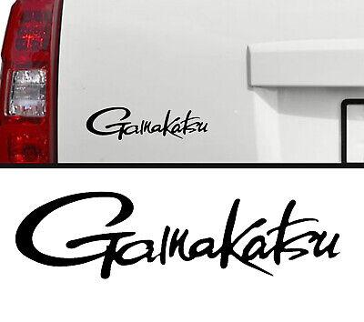 Gamakatsu Fishing Hooks Decal Outdoors Sports & Gears window cooler 7 in black
