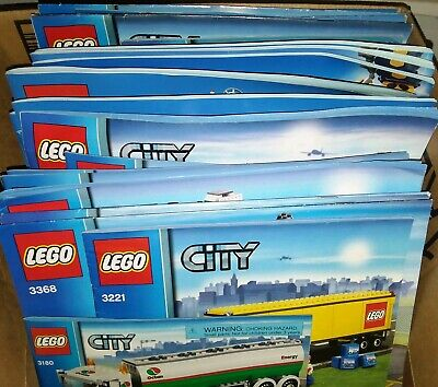 115x LEGO CITY Instruction Manuals *HUGE COLLECTION 45 sets!* GD condition fr/sh