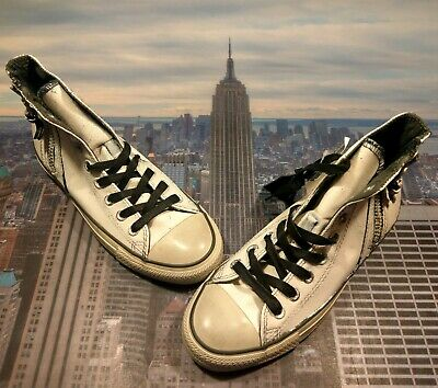 Converse x John Varvatos Chuck Taylor All Star Side Zip High Size 7 153884c New