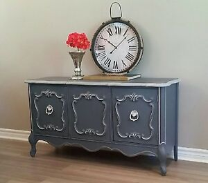 Shabby chic painted vintage furniture