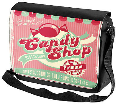 sche Retro Candy Shop bedruckt (Candy Shop Taschen)