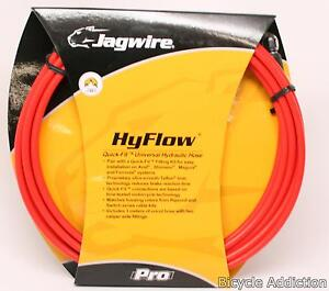 Jagwire HyFlow Hydraulic Disc Hose Kit Red 3000mm Quick-Fit