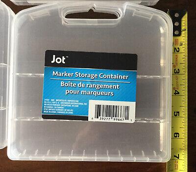 Jot Marker Storage Container