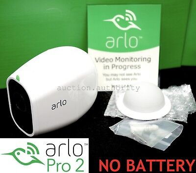 NEW ARLO PRO 2 Netgear 1080p HD Add-On Security Camera Wireless >NO BATTERY