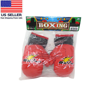 1 Pair PU Kids Boxing Gloves Children Training Punching Gloves For Age 3-10 Year