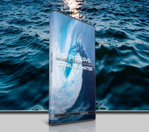 200 SEA WATER WAVES DIGITAL PHOTOSHOP OVERLAYS BACKDROPS BACKGROUNDS PHOTOGRAPHY