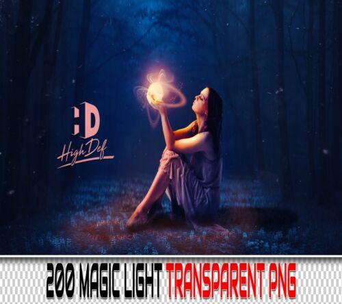 200 MAGIC LIGHT TRANSPARENT PNG DIGITAL PHOTOSHOP OVERLAYS BACKDROPS BACKGROUNDS