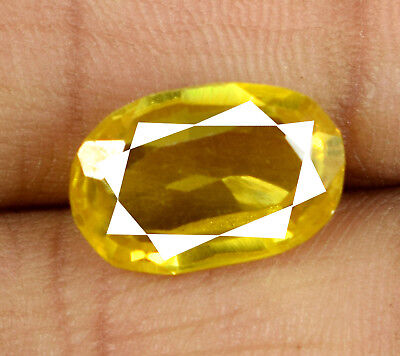 Cut Best Yellow Sapphire - Natural Yellow Sapphire Loose Gemstone 8-10 Ct Oval Cut Best Deal AGSL Certified