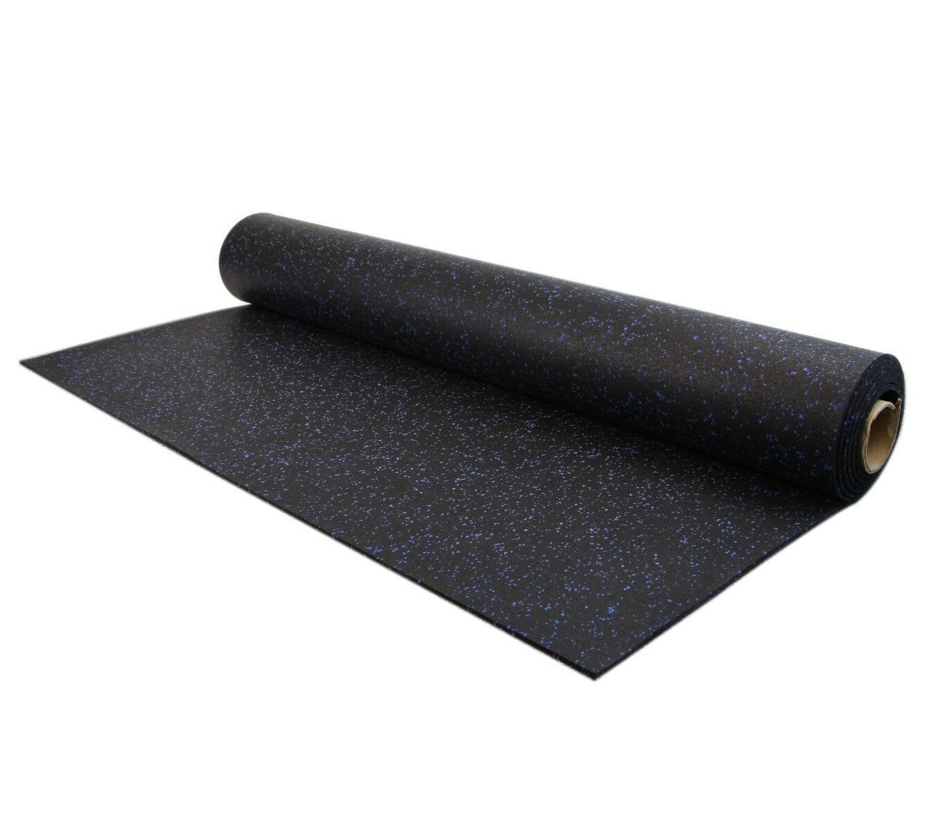 Incstores rubber mats 4 39 x10 39 portable home gym flooring for Rubber flooring