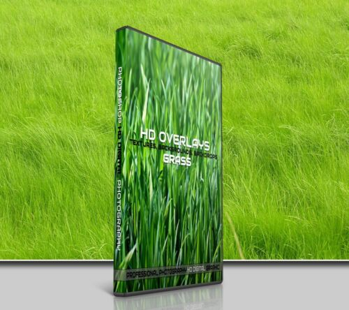 200 GREEN GRASS DIGITAL PHOTOSHOP OVERLAYS BACKDROPS BACKGROUNDS PHOTOGRAPHY