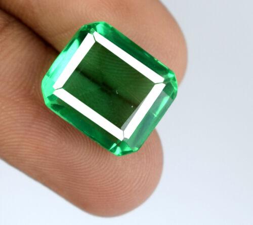 100% Natural Emerald Cut 8-10 Ct Muzo Colombian Emerald Gemstone AGI Certified