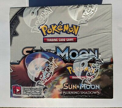 Pokemon TCG Burning Shadows Booster Box Brand New Factory Sealed