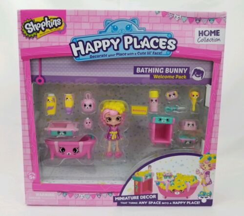Shopkins Happy Place Welcome Pack - Bathing Bunny Welcome