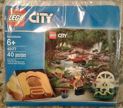 LEGO CITY 40177 City Jungle Explorer Kit (Tent & Minifigure) 40pcs Polybag New