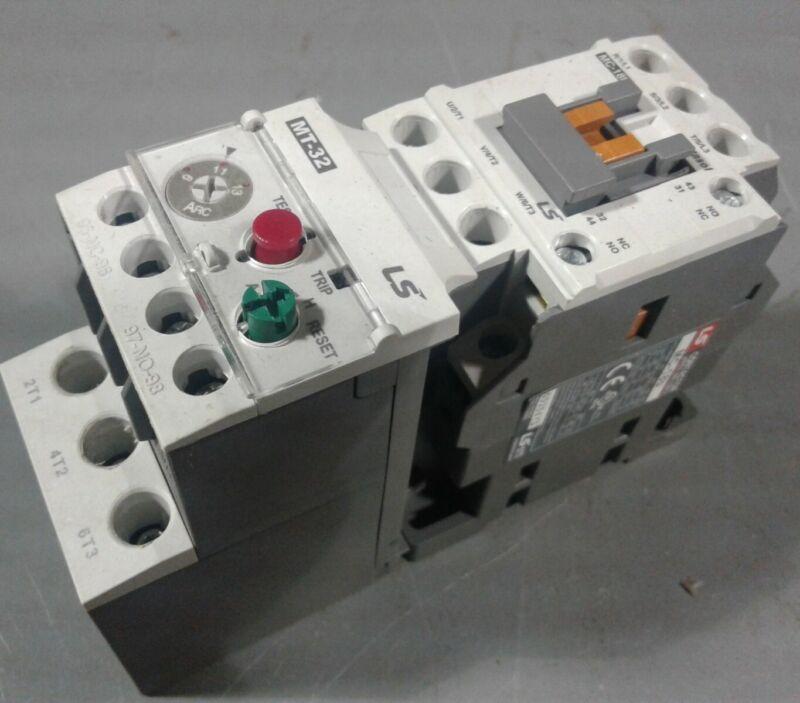 LS  MC-18b Contactor & LS MT-32/3K Overload Relay