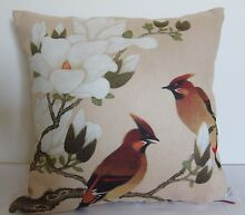 clearance Exquisite*great quality* Magnolia & Bird Cushion cover Padbury Joondalup Area Preview