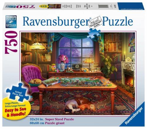 RAVENSBURGER PUZZLE*500 TEILE*PUZZLER'S PLACE*RARITÄT*NEU+OVP