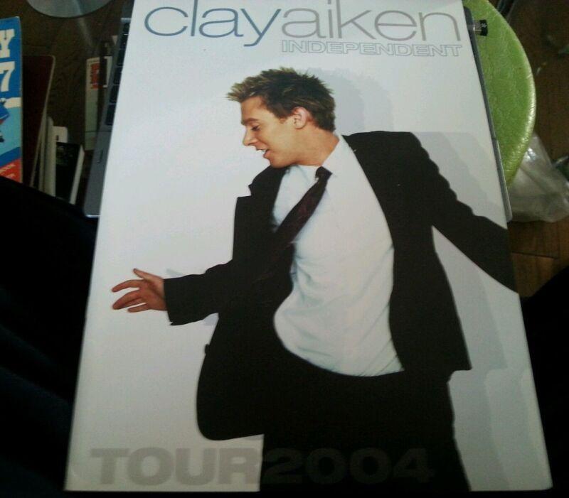 CLAY AIKEN  PROGRAM INDEPENDENT TOUR 2004 AMERICAN IDOL