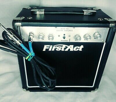 First Act M2A-110 Electric Guitar PORTABLE Amplifier, KORG GA-30 TUNER, & MIC! First Act Electric Guitar Amplifier
