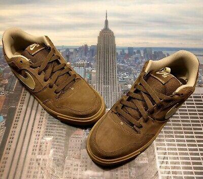 best service 0e3a3 9508c Nike Zoom Paul Rodriguez 2.5 Light Chocolate Khaki Mens Size 9 New 386613  200 SB