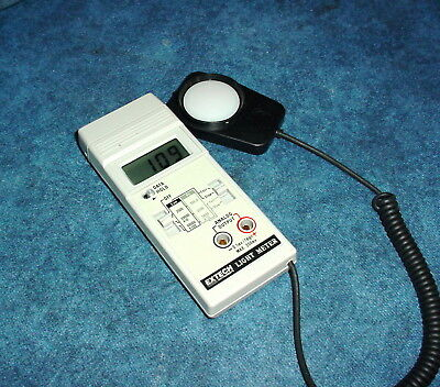 Extech Foot Candlelux Light Meter Wanalog Output Fastslow Response Feature