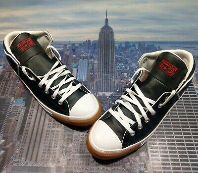 Converse Chuck Taylor All Star High Street Mid Top Black Men Size...