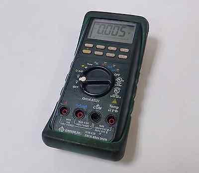 Greenlee Dm-820 True Rms Dmm Digital Multimeter Cat Iii 1000v Cat Iv 600v