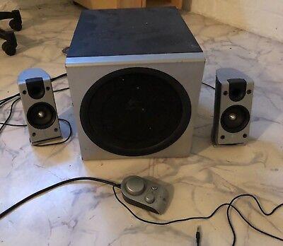 LOGITECH Z-2300 2.1 THX PC-Lautsprecher System - Super Klang!