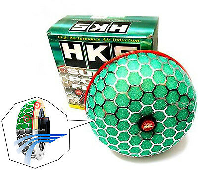3''High HKS Super Power Air Filter Flow 80mm Intake Reloaded Cleaner Universal