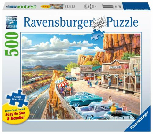 RAVENSBURGER PUZZLE*500 TEILE*SCENIC OVERLOOK*RARITÄT*NEU+OVP