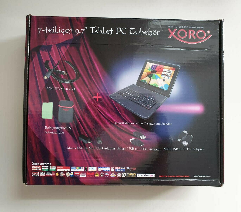 Xoro TabletTasche mit Tastatur für 9,7 Zoll NEU OVP