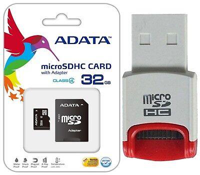 ADATA 32GB MicroSD Micro SDHC TF Class 4 32G Memory Card for ASUS PadFone X mini