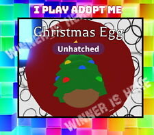 Adopt Me Christmas Egg is Free With PC Wallpaper Buy- Roblox Xmas | eBay