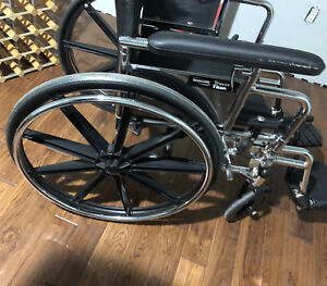 Invacare production  tracer titan wheel chair for sale