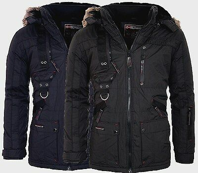 Geographical Norway Herren Sehr Warm Winter Jacke Parka Outdoor Funktionsjacke  ()