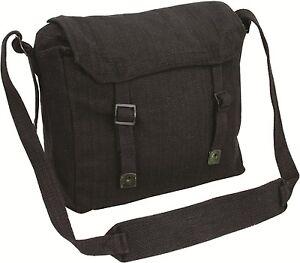 NEW Webbing  Canvas Haversack  fishing satchel army messenger bag small