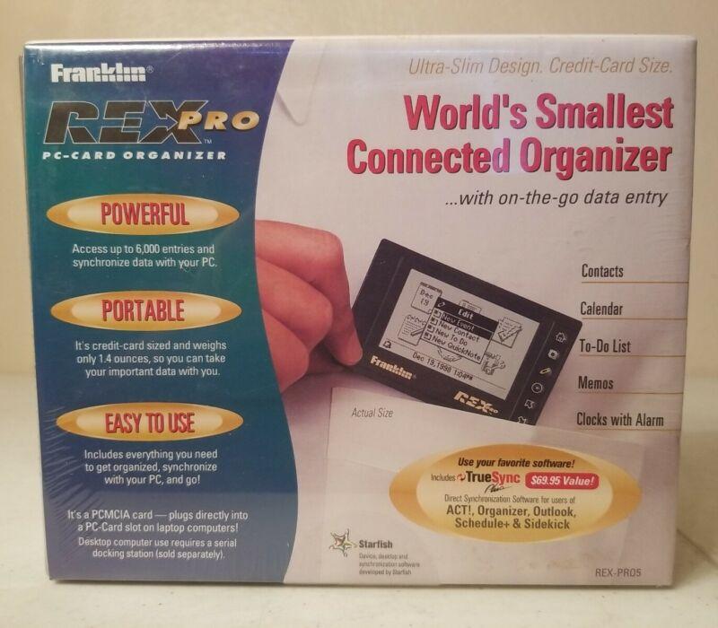 New Sealed Franklin Rex Pro - PC Card Organizer REX-PR05