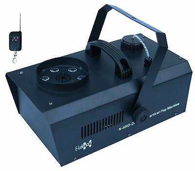 E-Lektron NV-1010-DMX Nebelmaschine vertikal 1000W Upspray Fogger RGB LED FunkFB