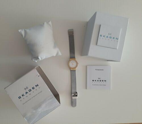 Skagen Denmark Uhr Damen inkl Box