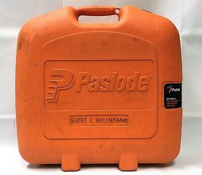 Paslode Cf325li 30 Drgree Framing Nailer W Battery Charger Case