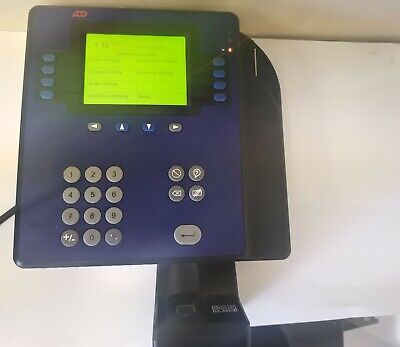 Adp 4500 Employee Time Clock Quick Punch Touch Id