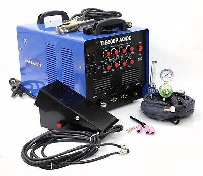 Tig200p 200a Tig Mma Pulse Dc Inverter Welding Machine Wfoot Pedal Argon Reg