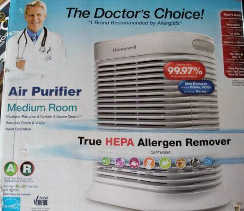 Honeywell True Hepa Air Purifier Microscopic Allergens Medium Room Hpa105-tgt