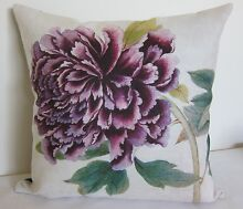 clearance!! QUALITY ASSURED! Purple PEONY CUSHION COVER Padbury Joondalup Area Preview