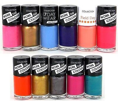 48x Collection Nail Polish / Varnish Wholesale Job Lot Cosmetics Make Up 2000 50