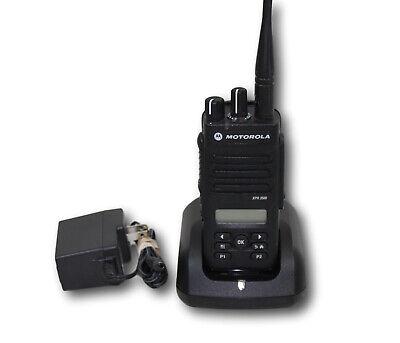 Motorola Trbo Xpr3500 Xpr 3500 Uhf 403-512 Mhz 128ch 4w Digital Radio