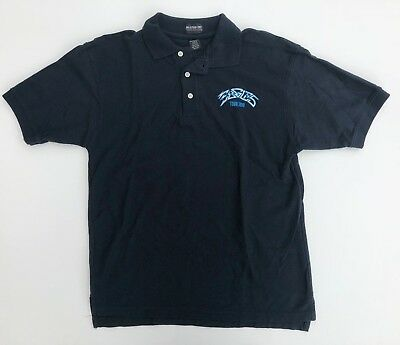 Eagles band 2013 polo Medium Navy T shirt embroidered excellent condition  for sale  Saint Petersburg