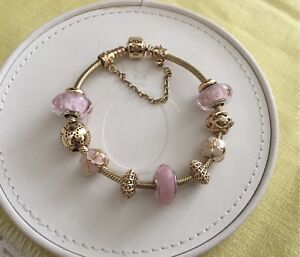 WANTED authentic gold Pandora charms